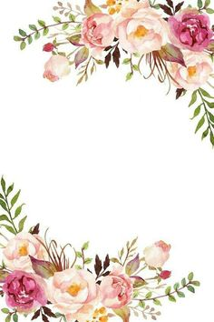 56 Trendy Baby Art Welcome Flower Background Wallpaper, Flower Backgrounds, Wallpaper Backgrounds, Iphone Wallpaper, Pink Floral Background, Phone Backgrounds, Invitation Floral, Invitation Background, Wedding Cards