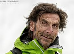 """Portrait of Hanspeter Eisendle"" - (Ritratto ad Hanspeter Eisendle)  Un ritratto che ho realizzato al grandissimo alpinista e guida alpina Hanspeter Eisendle, durante il Walk con Reinhold Messner in occasione dell' IMS - International Mountain Summit 2013, nei pressi del rifugio Plose ( 20/10/2013 Brixen - Bressanone - Italy)  © Roberto Carnevali Photographer"