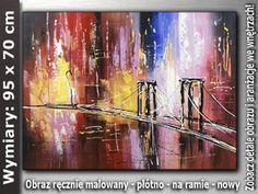 OBRAZ nr AB473 95x70 cm Obrazy olejne i akrylowe
