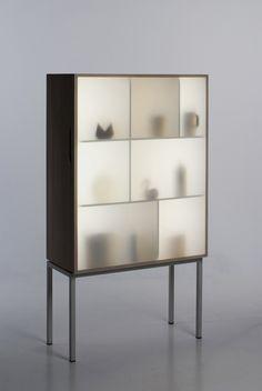 Luminosity. Stine knudsen aas: display away cabinet