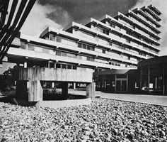 A.R.A.G. Insurance Company Building, Dusseldorf, Germany, 1967 (Paul Schneider-Esleben)