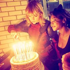 """meridithswifts: """"kennedyrayee: Thank you Tay for being a great friend, and getting me the best tasting birthday cake EVER @taylorswift  """""""