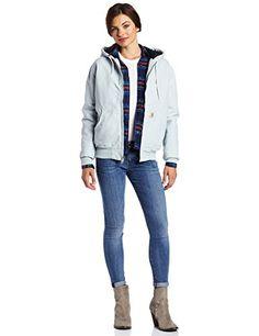 ** Super Saver ** Carhartt Women's Sandstone Duck Quilt Flannel Lined Active Jacket