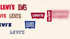 Ever wonder why the trademark symbol on the Levi's logo is clipped off? Trademark Symbol, Levi's Brand, Branding Design, Logo Design, Typography, Lettering, Brand Packaging, To Focus, Teaching Resources