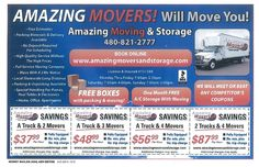 AMAZING MOVERS!   #AZSEASONSMAGAZINE