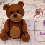How to Make a Fondant Teddy Bear - Chilly Frosting