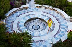 Mosaic artwork from Kivotos... http://www.lhw.com/Hotel/Kivotos-Mykonos-Greece