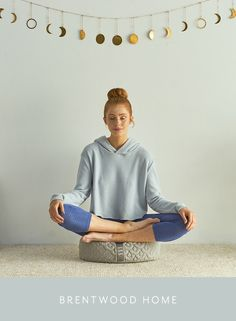 Discover the mental and physical benefits of using a meditation pillow in your sacred space. Meet the Crystal Cove collection by Brentwood Home.