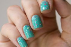 Emily de Molly Bo Peep. #nails #nailpolish #emilydemolly
