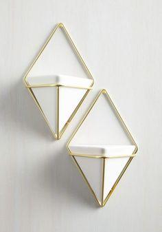 ModCloth Dorm Decor Exemplary Contemporary Vase Set