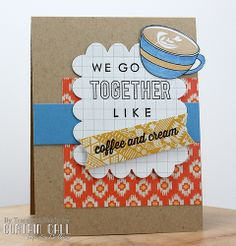 Reverse Confetti | Go Together, Be a Barista, Love Notes Die [Just Because, Friendship, Thinking of You Card]