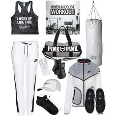 how to wear track pants to the gym 4