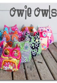 use these instead of ice packs - - not too cold for kiddos to handle - -Owie Owls - Ice Pack alternative ~ Sugar Bee Crafts