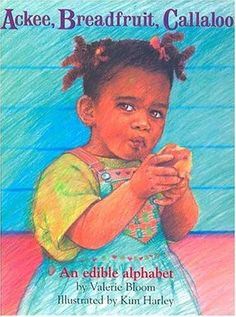 ABC's the Jamaican way.....such a cute book. One of Christina's favorites