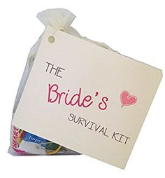 Bride To Be Novelty Survival Kit Wedding Gift For The Keepsake Favour