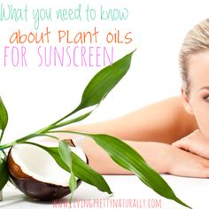 There has been a lot of chatter on the interwebs lately about using coconut oil (and other oils) forsunscreens - amazing that plants actually have natural sun protection in them, isn't it? However...