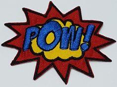 Patch Emoji Pow
