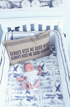 vintage airplane travel nursery