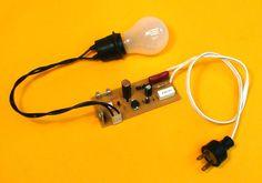 Proyectos DIY construya una luz nocturma automatica