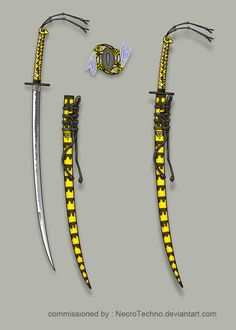 Commission: Wasp katana by Wen-M on DeviantArt