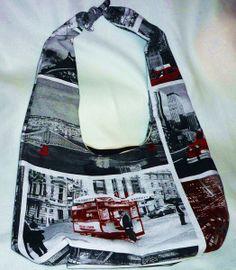 """Knotentasche  """"New York""""  von Kat - Design  -  Die Fadenhexe auf DaWanda.com"""