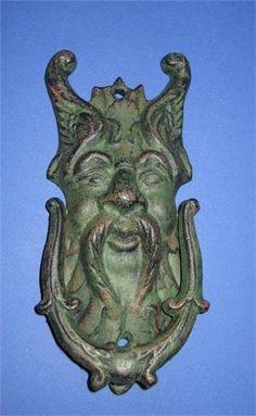 Norse God Vintage Door Knocker