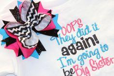 Big+Sister+Announcement+Shirt++Sew+Adorable+by+SewAdorableBowtique,+$20.00