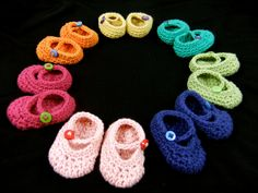 I'm in the (long) process of revamping my etsy shop. I've been remaking and reformatting all of my amigurumi patterns since mid February. These Mary Jane shoes have been pretty popular in my etsy s...