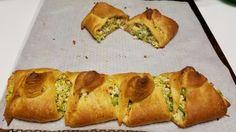 Pampered Chef Chicken and Broccoli Braid