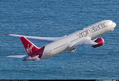 Virgin Atlantic Boeing 787-9 Dreamliner G-VWHO departing Los Angeles-International, May 2016. VS8 to London. (Photo: Mark A Harris)