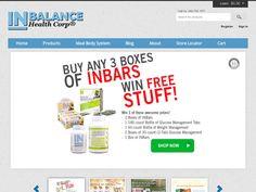 #INBalance Health Corp - Save 15% on Inbars and Supplements.