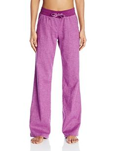 prAna Womens Mantra Pants Light Red Violet Medium * Click image to review more details.