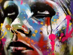 Street artist - David Walker
