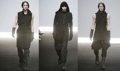dark mens fashion editorial rick owens - Google Search