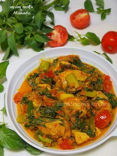 Ayam Woku Manado Resep Ayam Resep Masakan Makanan Dan Minuman