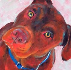 Did You Say Walk? by Brenda Ferguson, painting by artist Brenda Ferguson