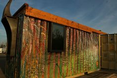 zulu-green-rhino-cubed | A 160 square feet converted shipping container in Boulder, Colorado. Designed by Rhino Cubed.