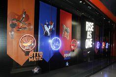 Nike Las Vegas •March Madness •Retail Design •Jessica Davis