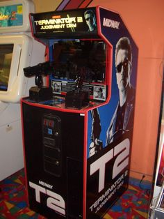 T2 Terminator 2 arcade game made by Midway