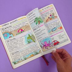 Going on Vacation with your Bullet Journal