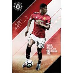 efe33b9b186 Manchester United Rashford 17 18 Maxi Poster