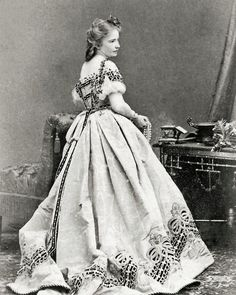 (Civil War Photo Print of a Woman)