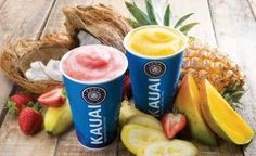 All the benefits of fruit in one delicious cup. #Kauai #fruit #healthy