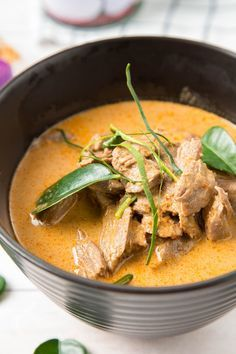 Thai Panang Curry with Beef | The Missing Lokness