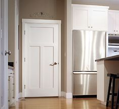 Lynden's Craftsman Door is perfect for any room of your home. Contact your Millard Lumber salesperson for sizes and pricing or call Craftsman Interior Doors, White Interior Doors, Craftsman Door, Interior Trim, Interior And Exterior, Exterior Doors, Interior Design, Traditional Interior Doors, Seattle Homes For Sale