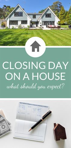 What do you need to know for closing day on a housr? Of course, it's smart to prepare yourself for the realities of real estate closing, because it isn't as simple as some people think. In truth, new homeowners need to manage a number of different ta Home Selling Tips, Home Buying Tips, Selling Your House, Closing On House, Closing Day, New Home Checklist, Buying Your First Home, New Homeowner, First Time Home Buyers