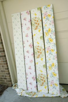 EmmmyLizzzy: Tutorial: Fabric Covered Shelves. I would like to do this to my closet shelves... the 70s gold & avocado paper just isn't doing it for me anymore  :)