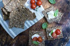 knekkebrød med frø og nøtter