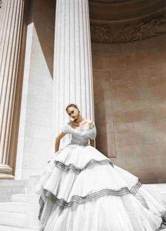 thetruthdoesnotglitterandshine:    Telegraph Luxury November 2008 Marcelina Sowa by Alix Malka Christian Dior   Fall 2008 Couture