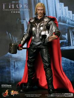 Hot Toys Movie Masterpiece 1/6 Scale Collectible Figure Thor @ niftywarehouse.com #NiftyWarehouse #Thor #Marvel #Avengers #TheAvengers #Comics #ComicBooks